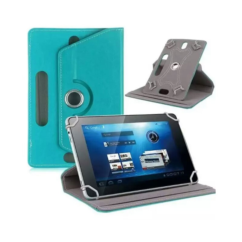 For Archos 101e Neon 10.1Inch 360 Degree Rotating Universal Tablet PU Leather cover case