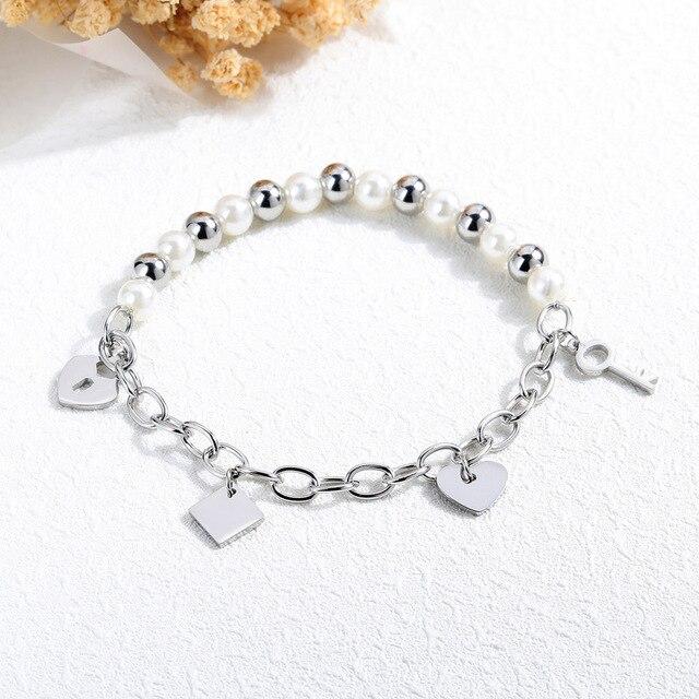 Купить модные ювелирные изделия браслеты браслет из титановой стали