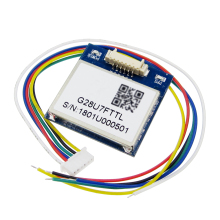 5pcs/lot VK2828U7G5LF GPS Module with Antenna TTL 1-10Hz FLASH Flight Control Model Aircraft