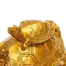 Feng Shui Dragon Turtle Statue Figurine