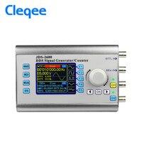 Cleqee JDS2600 30MHz Digital Control Dual Channel DDS Function Arbitrary Waveform Signal Generator