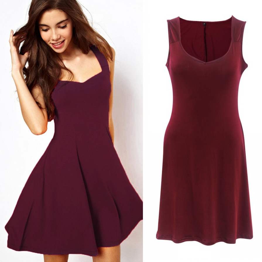 Women's Clothing Methodical Summer Dress For Women Sleeveless Slim Casual Party Dress Big Size Sheath Bodycon Dress Women M-xxl H420