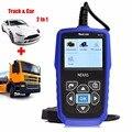 Nexlink NL102 Автомобилей и Грузовиков 2 в 1 Авто OBD2 Диагностический Инструмент Heavy Duty OBD Сканер с Батарейным Монитор для Универсального автомобили/Грузовики