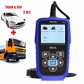 Nexlink NL102 Car &Truck 2 in 1 Auto OBD2 Diagnostic Tool Heavy Duty OBD Scanner with Battery Monitor for Universal cars /Trucks