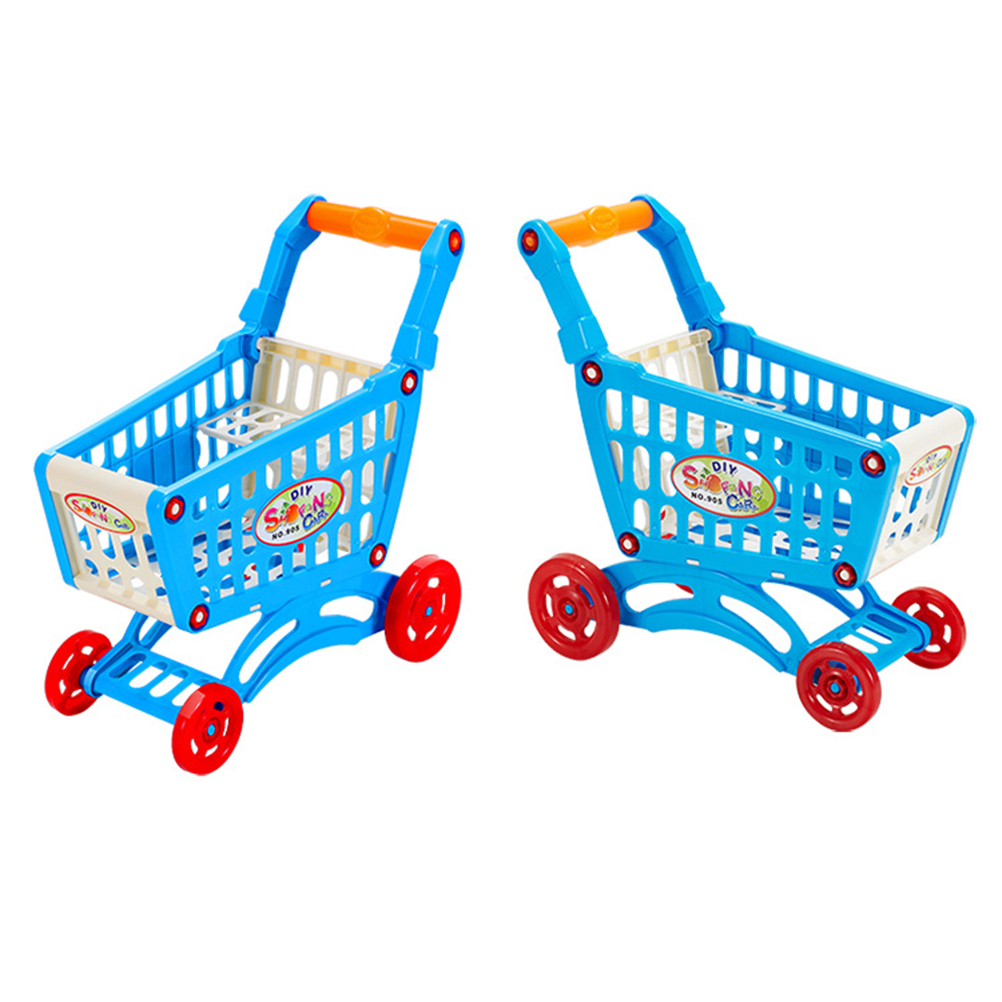 Play Toys Com : Simulate supermarket shopping cart pretend play toys mini