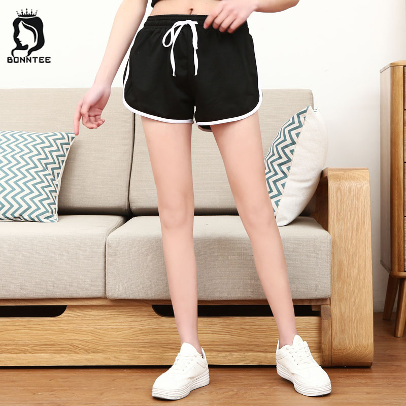 Plus Size Women Summer Short Females Loose Shorts Female Drawstring Womens Stretchy Breathable Students School New Korean Style