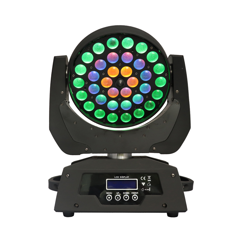Zoom Stage Movable Head Led Wash Dj Sharpy Disco Lighting For Wedding Laser Event