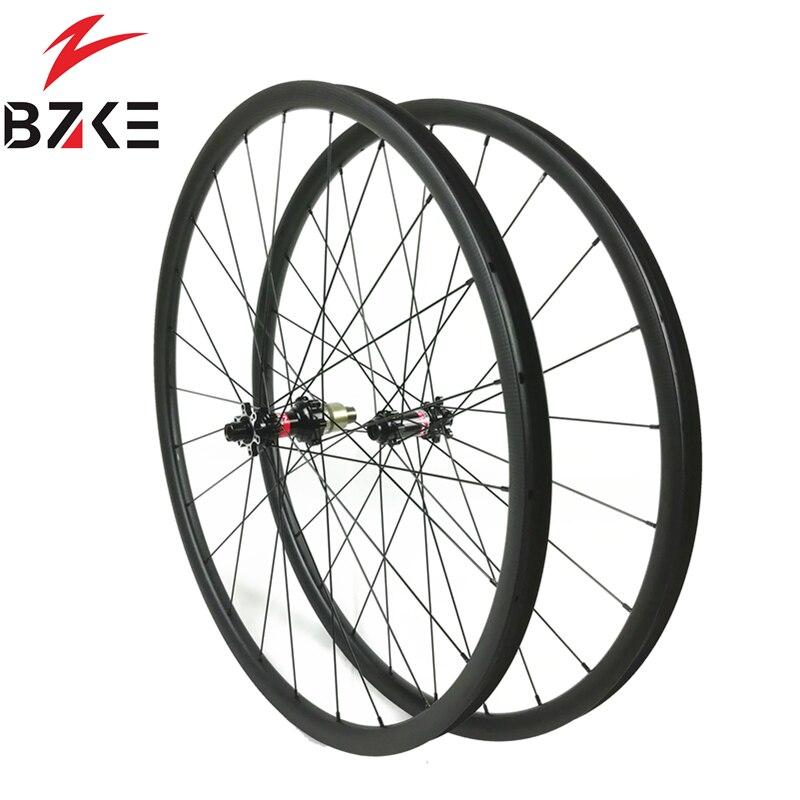 carbon wheels carbon mtb wheels 29 novatec D411 straight pull hubs carbon wheelset 29er mtb wheels