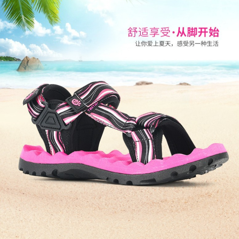 Women Outdoor Ultra-lightweight Sandals Summer Camping Hiking Sports Shoe Non-slip Beach Shoes Women Quick Drying Sneakers HW
