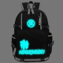 Gintama Luminous backpack Cheap Anime Cool Backpacks for Men