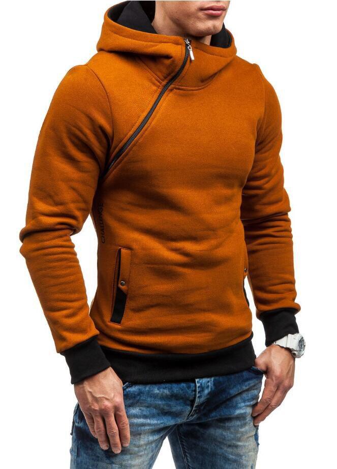 HEYKESON Brand 2017 Hoodie Oblique Zipper Solid Color Hoodies Men Fashion Tracksuit Male Sweatshirt Hoody Mens Purpose Tour XXL HEYKESON Brand 2017 Hoodies, with an chest Zipper HTB181 ZSFXXXXbgXXXXq6xXFXXXu