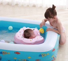Inflatable Baby Swimming Pool Portable Outdoor Childrens Bathing Indoor kid