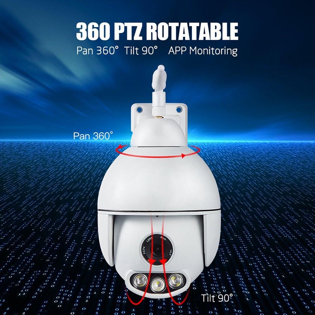 S-H6C WIFI WIFI caméra extérieure PTZ IP caméra 1080 p vitesse dôme CCTV caméras de sécurité caméra IP WIFI extérieur maison Surveilance