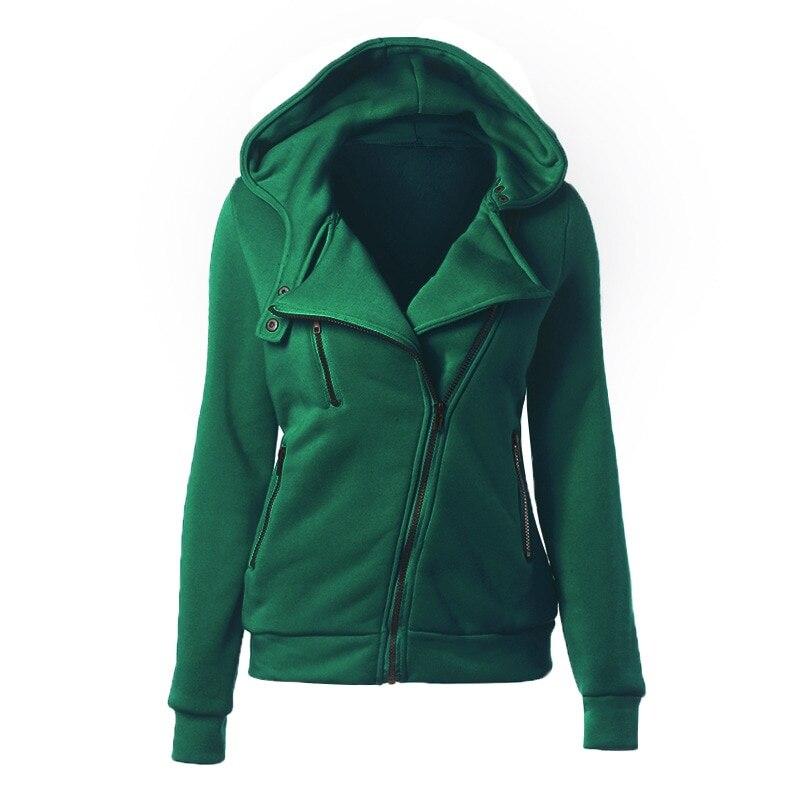 CALOFE 19 Autumn Winter Jacket Women Coat Casual Girls Basic Jackets Zipper Cardigan Sleeveless Jacket Female Coats Plus Size 9