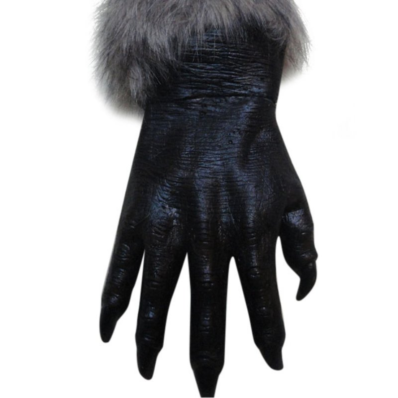 aliexpresscom buy new party masks classic halloween werewolf wolf paws claws cosplay gloves creepy costume party fast cn12 from reliable party mask - Halloween Wolf Costume