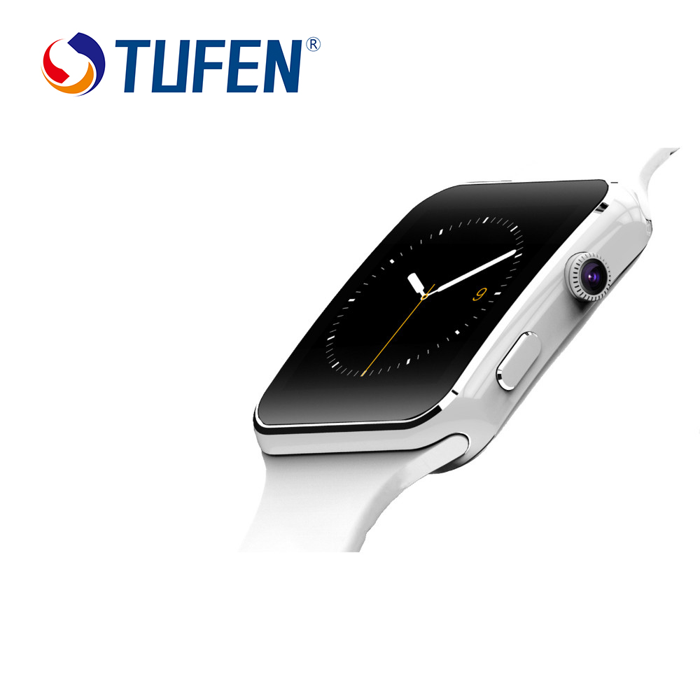 New Bluetooth Smart Watch X6 Smartwatch Sports Watch For Apple iPhone Android Support Camera SIM Card