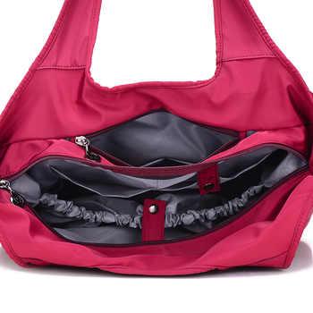 ladies hand bag women Top-Handle Bags female nylon tote bags for women purses and handbags Hobos shopping beach handbags
