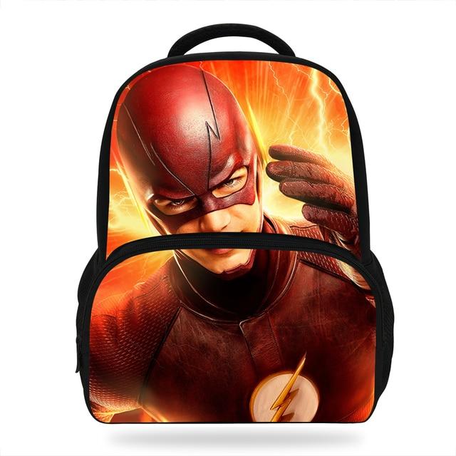01d6ef21b2 14inch Mochila The Flash Man Backpack Girls School Bag Avengers Characters Kids  School Bags For Teenager