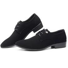 Fashion Leather shoes Men Dress Shoe Pointed Oxfords Shoes For Lace Up Designer zapatos hombre vestir wedding  canvas