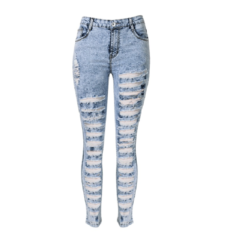 Compare Prices on Ripped High Waisted Jeans- Online Shopping/Buy