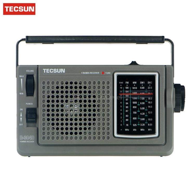 Tecsun R 304D R304D Digital Receiver highly sensitive FM MW shortwave radio Digital Receiver Portable Radio