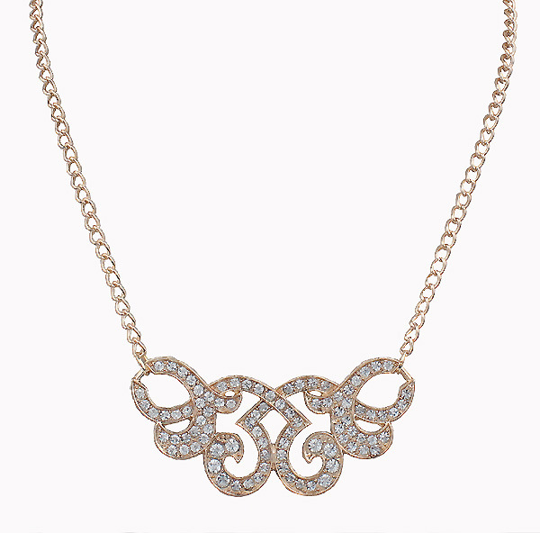 2016 New Design Exquisite Shining Crystal Sweater Chain Necklaces Golden Geometric Metal Maxi Neckalces For Women Party Jewelry