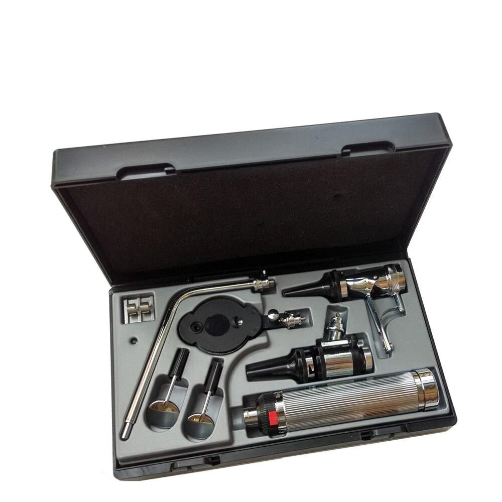 Kit de diagnostic médical multifonction professionnel orl Kit de diagnostic Direct de l'otoscope et de l'ophtalmoscope