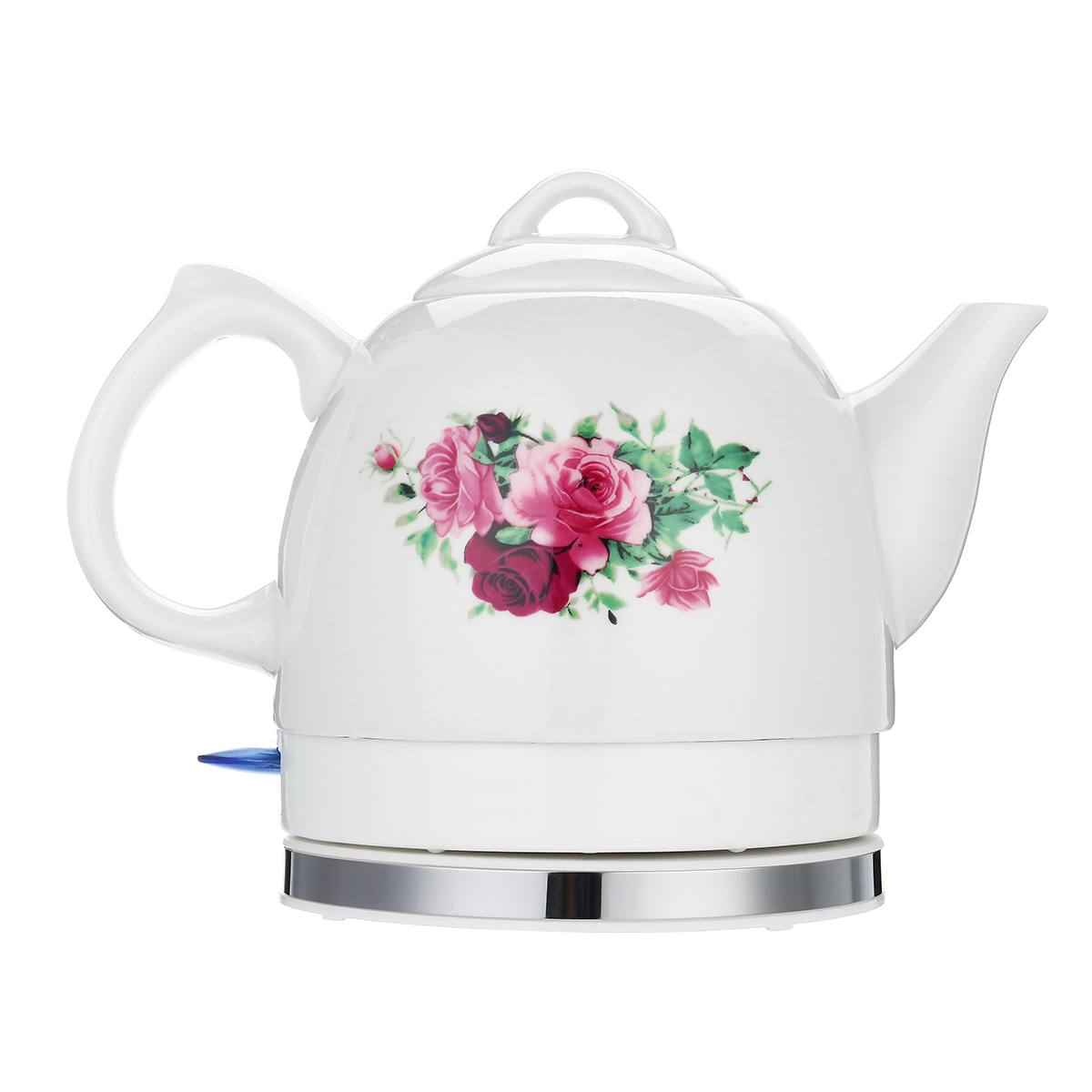 1 L Ceramic Electric Water Kettle High Power Heated Kettle With Safety Automatic Power-off Function Quick Boiling Hot Tea Pot