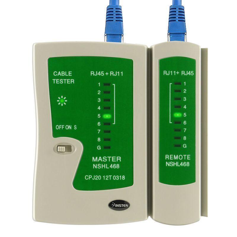 High Quality RJ45 RJ11 Cat5e Cat6 Network Cable Tester USB Lan Cable Tester RJ45 Tester Test Tool