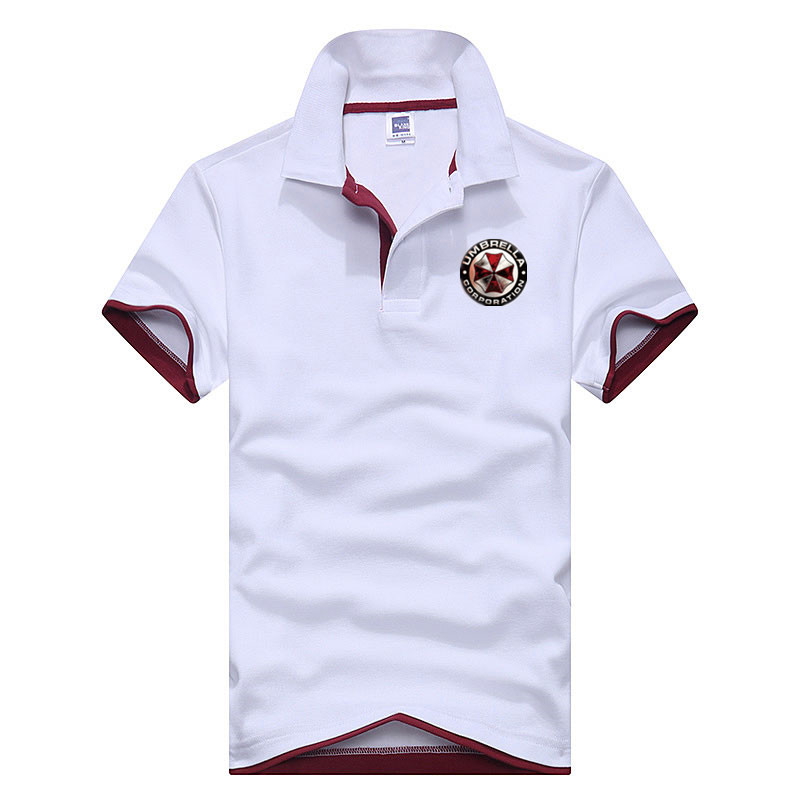 2018 Resident Evil Umbrella   Polo   Shirts Plus Size S-3XL Men Short Sleeve Tops Summer   Polos   Brand Clothing jerseys Men   polo   shirt