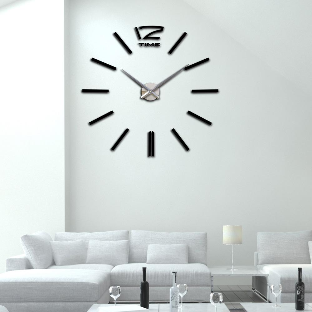 Large Mirrored Wall Clock compare prices on mirrored wall clocks- online shopping/buy low