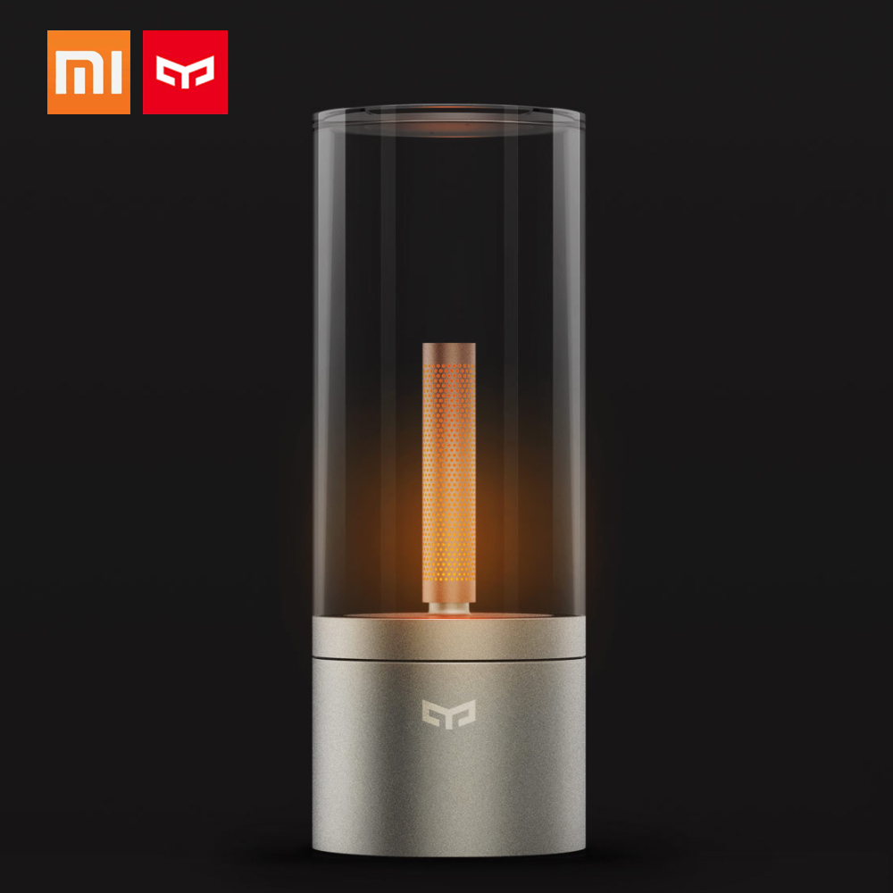 For Xiaomi Yeelight Mijia Table Lamp Smart Candle LED Desk USB Lamp Mijia APP Control Reading Table Bedroom Lamp Lights-in Desk Lamps from Lights & Lighting    1