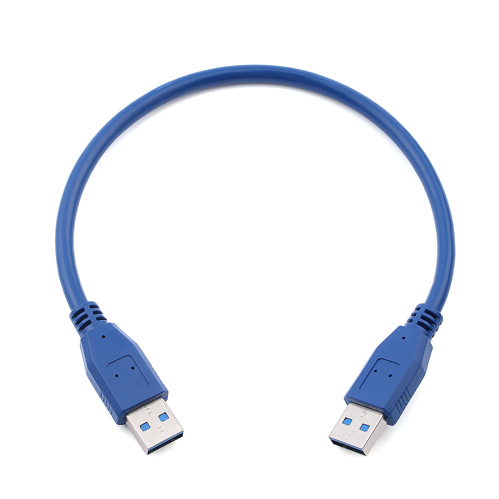 USB 3.0 Type A Male to Type A Male Extension Data Sync Cord BTC Mining Cable HU