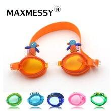 608190e8c0 New Children Swimming goggles Professional Anti Fog UV Kids Cute Cartoon  Animals Swimming Glasses For Baby Boys Girls