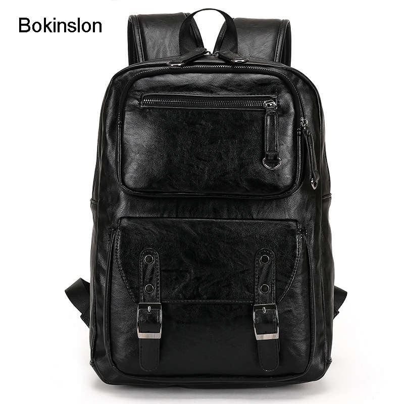 где купить Bokinslon Brand Backpack Woman College Wind Casual Backpack Girl Fashion Popular Backpacks Women's Bags по лучшей цене