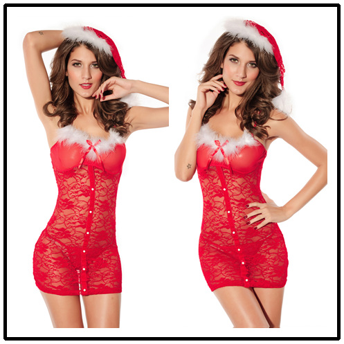 Adult  Christmas Santa Claus Costumes Set  Sexy Santa Dress Women  Love Live Cosplay 2018 New Arrival  Onesies for Adults