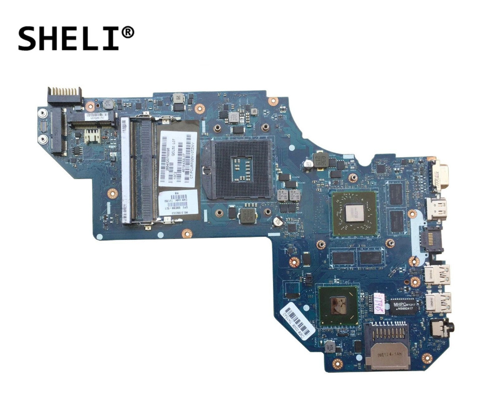 купить SHELI For HP M6 M6-1000 Motherboard with HD7670M video card QCL50 LA-8711P 698399-001 698399-501 по цене 5662.63 рублей