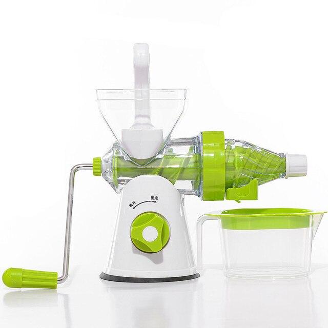 Obst Gemüse Handkurbel Gesundheit Entsafter Maker Farbe Grün in Obst ...