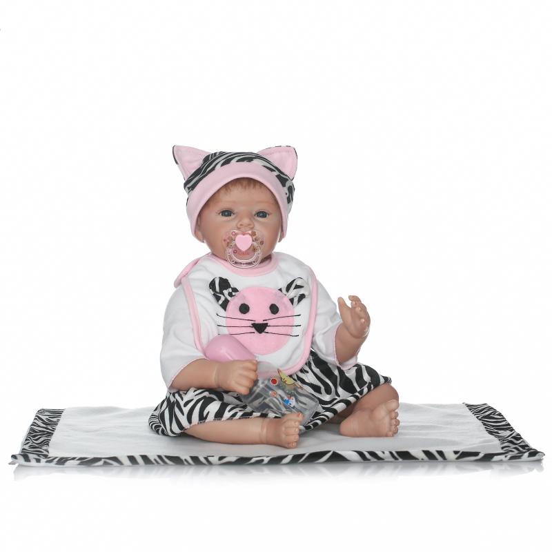 bebes reborn cartoon cat clothing silicone dolls reborn baby girl boy dolls 2255cm soft touch real alive bonecas rebornbebes reborn cartoon cat clothing silicone dolls reborn baby girl boy dolls 2255cm soft touch real alive bonecas reborn