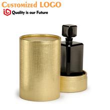 golden color tube box luxury perfume tube box цена 2017