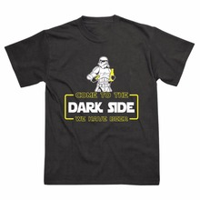 """Come To The Dark Side We Have Beer"" men's shirt"