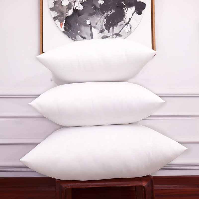 Top Brushed Fabric White Cushion Insert Soft Pp Cotton Car Sofa Chair Throw Pillow Core Inner Coussin Seat Filling Sizes