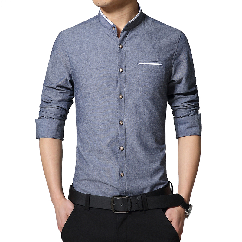 Colors Shirt Men Spring Long-Sleeve Casual Shirts 1