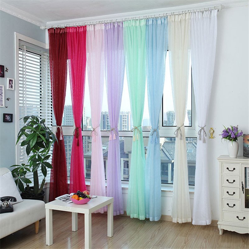 Basic Color Curtains