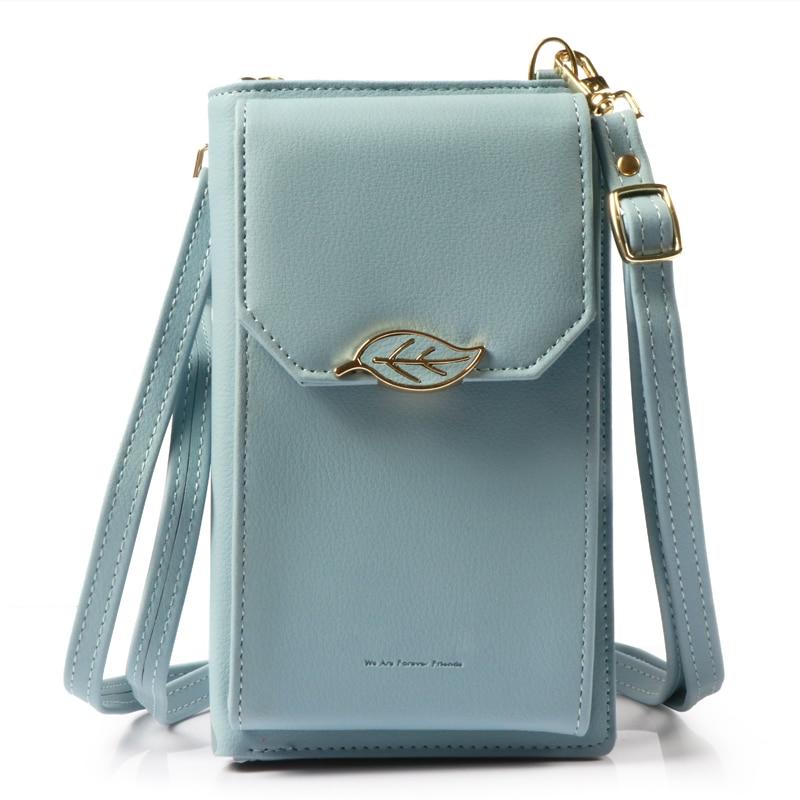 Pearl Angeli Luxury Wallet Kvinnliga Leaf Hasp Coin Handväska - Plånböcker - Foto 2