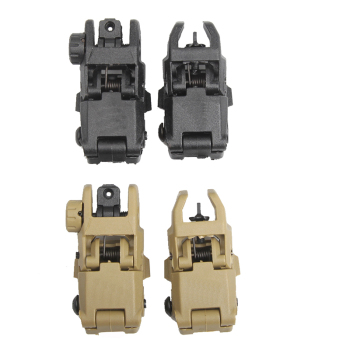 Tactical Military Folding Front Rear Sight Set Arms Gear GEN 1 Foldable Black fit for 20mm Rail Airsoft HT27-0003 цена 2017