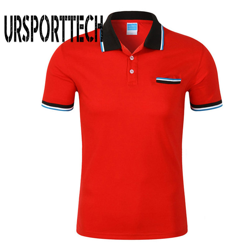 Brand Clothing Men's Polo Shirt Short Sleeve Men Cotton Solid Casual polo shirts Men Brand Polo Fashion Slim Fit Polos S-3XL white and red strip short sleeve men s cotton men s polo shirt