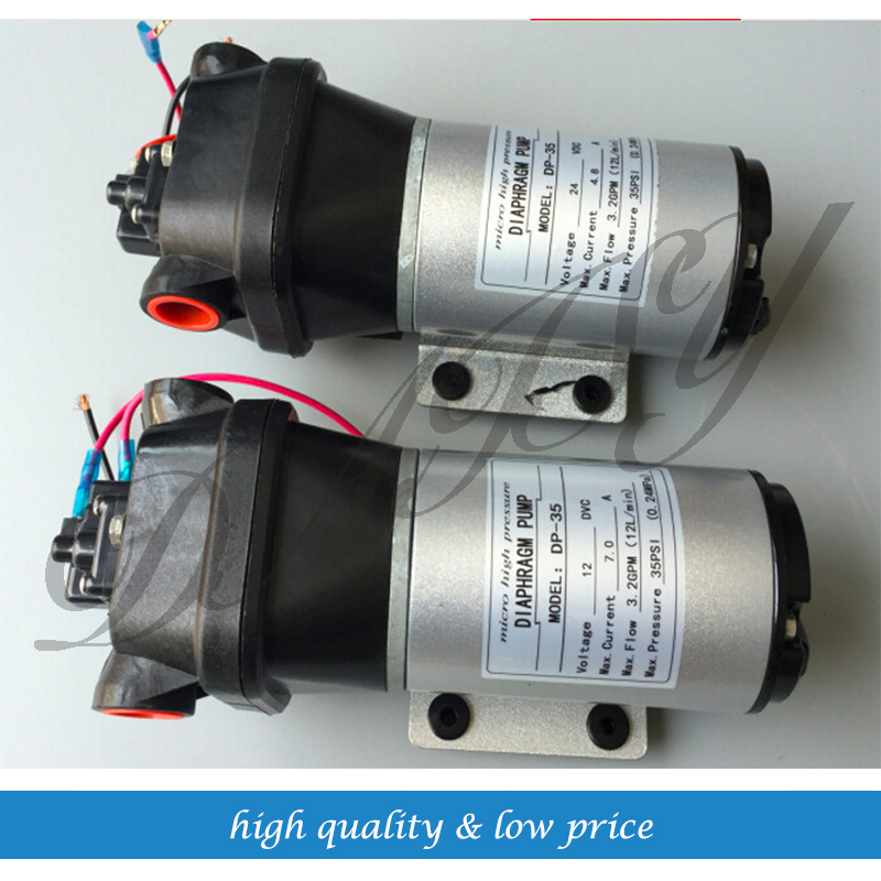 12v/24v Mini Diaphragm Pump Boost Househould Water and Seawater Desalt On the Boat