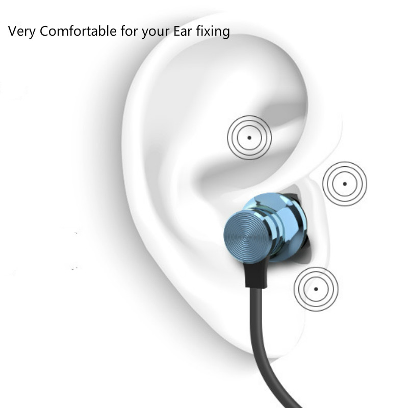Newest Wireless Headphone Bluetooth Earphone Headphone For Phone Neckband sport earphone Auriculare CSR Bluetooth For All Phone-in Bluetooth Earphones & Headphones from Consumer Electronics