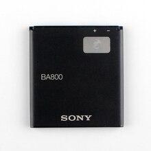 Оригинальный Sony 1700 мАч Батарея BA800 для Sony Xperia S Xperia V LT25i LT26i